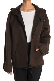 Valentino Giubbino Double Wool Blend Coat