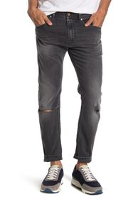 Diesel Thommer Distressed Slim Fit Jeans