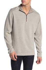 Tommy Bahama Half Zip Reversible Pullover Sweater