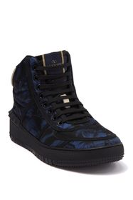 Valentino Printed High Top Sneaker