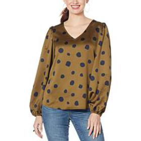 """""""As Is"""" G by Giuliana Black Label Balloon-Sleeve T"""