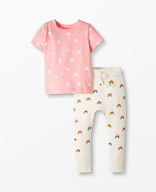 Hanna Andersson Play Tee & Pant Set