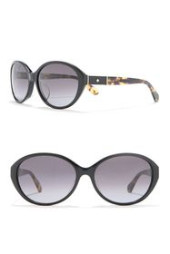 kate spade new york catrine 58mm oval sunglasses