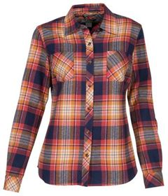 Natural Reflections Long-Sleeve Flannel Shirt for