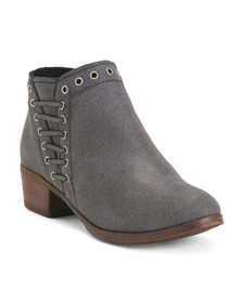 MINNETONKA Leather Booties