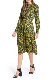 Scotch & Soda Printed Midi Dress