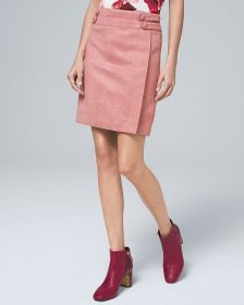Faux-Suede Boot Skirt