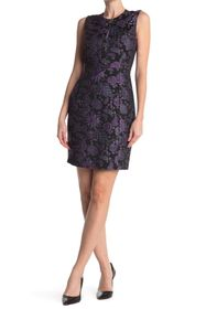 Elie Tahari Louisa Sleeveless Jacquard Dress