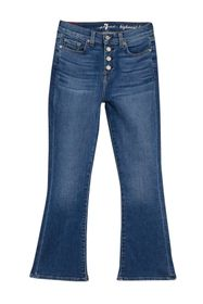 7 For All Mankind Kick High Waist Slim Fit Jeans