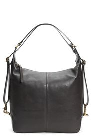 Frye Gia Leather Convertible Backpack
