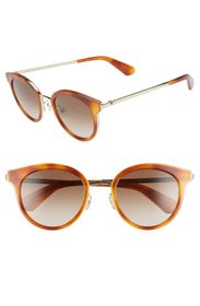 kate spade new york lisanne 55mm round sunglasses