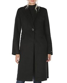 T Tahari - Kayla Notched Collar Coat