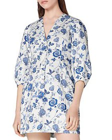 Derek Lam 10 Crosby - Ottilie Floral Print Dress