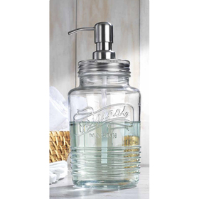 Home Essentials Original Mason Soap Dispenser