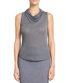 Theory - Sleeveless Cowl Neck Top