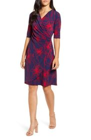 Tommy Bahama Vista Blooms Wrap Dress
