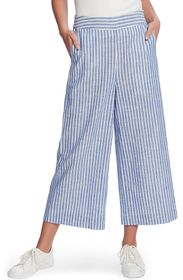 1.State Crinkle Stripe Wide Leg Pant