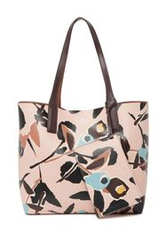 kate spade new york abstract print reversible leat