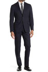 Hickey Freeman Modern Fit Solid Suit Set