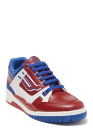 BALLY Kuba Leather Colorblock Sneaker