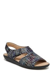Naturalizer Scout Leather Sandal - Wide Width Avai