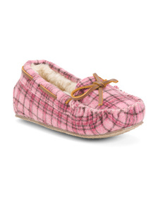 MINNETONKA Moccasin Slippers (Little Kids, Big Kid