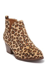 Chinese Laundry Cortes Faux Fur Leopard Ankle Boot