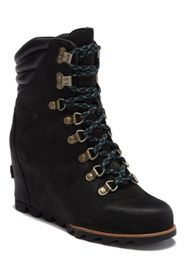 Sorel Conquest Waterproof Leather Wedge Boot