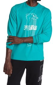 PUMA Franchise Street Long Sleeve Tee