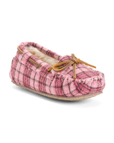 MINNETONKA Moccasin Slippers (Toddler)