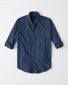 Oxford Shirt, DARK BLUE