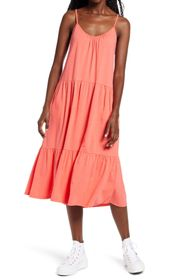 ALL IN FAVOR Tiered Jersey Dress