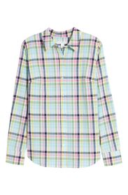 1901 Classic Rainbow Check Button Front Shirt