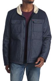 Levi's Faux Shearling Lined Woodsman Jacket