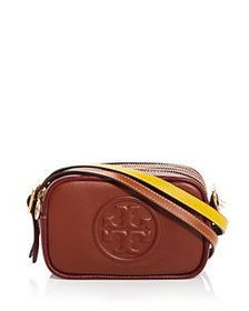 Tory Burch - Perry Bombé Double Strap Mini Leather