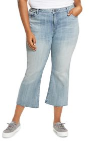 KUT from the Kloth Kelsey High Rise Cropped Ankle
