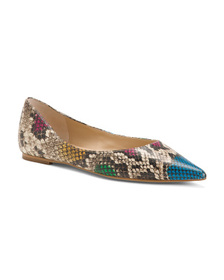 BOTKIER Leather Pointy Toe Flats