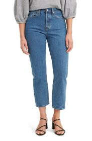 Levi's The Wedgie High Waist Straight Leg Jeans