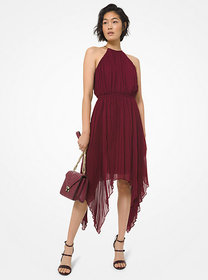 Michael Kors Georgette Handkerchief Dress