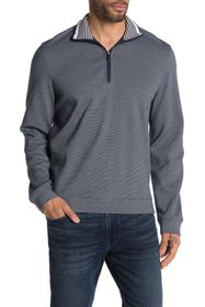 Perry Ellis Quarter Zip Sweater