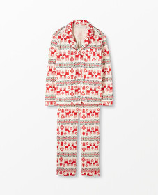 Hanna Andersson Women's Button Down Cotton Pajamas