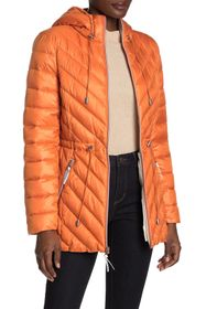 French Connection Packable Puffer Anorak Jacket