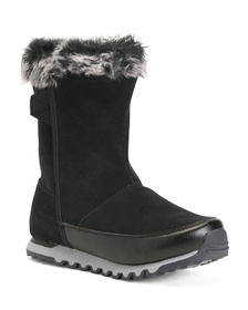 Wide Cozy Snow Boots