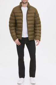 KENNETH COLE Horizontal Midweight Quilted Puffer J