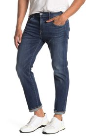 7 For All Mankind Skinny Dark Washed Jeans