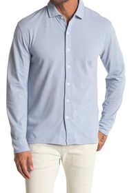 Cole Haan Long Sleeve Full Button Polo