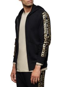 True Religion Graphic Sleeve Zip Hoodie