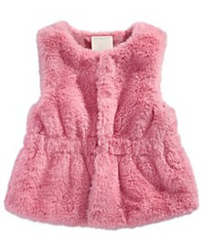 Toddler Girls Fur Vest, Created for Macy's