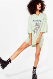 Nasty Gal Green Don't Let It Dragon Tokyo Graphic