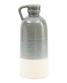 20in Ceramic Decorative Bottle